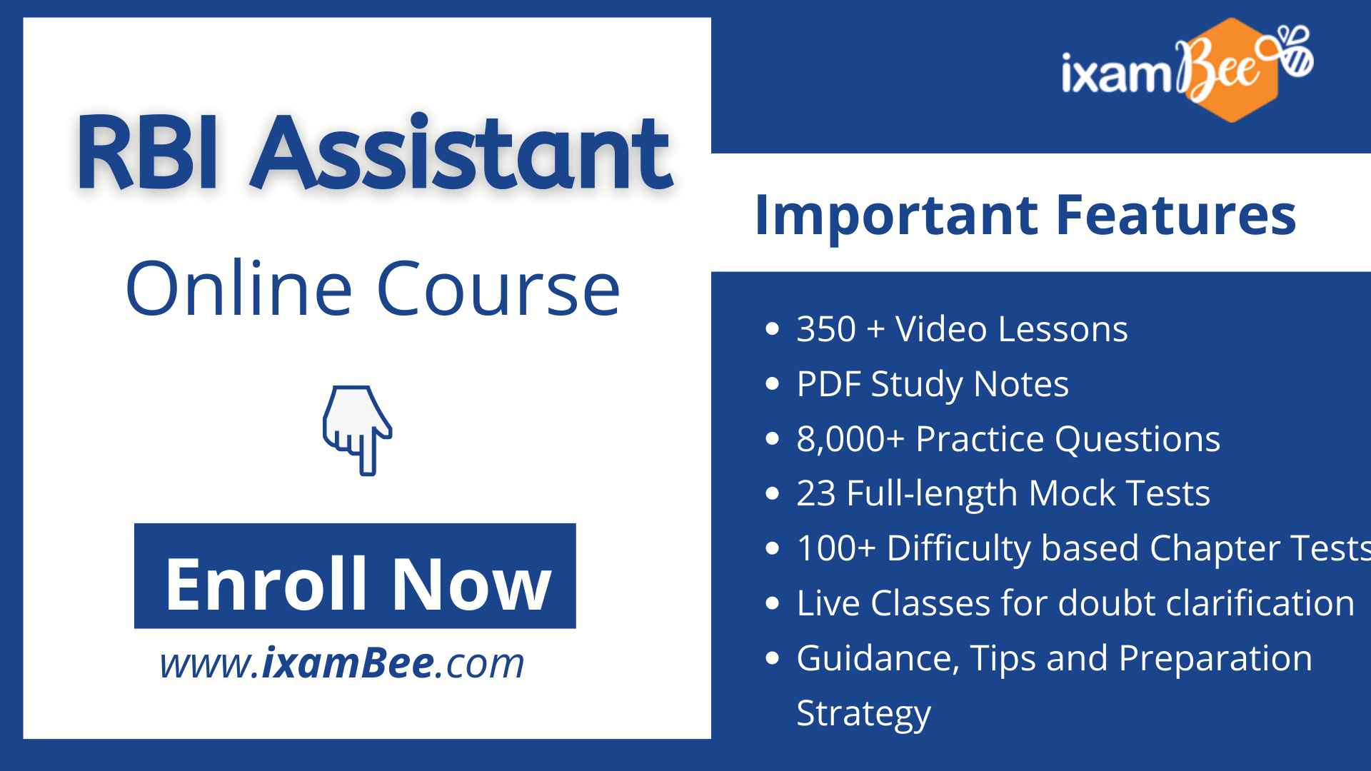 rbi assistant online course