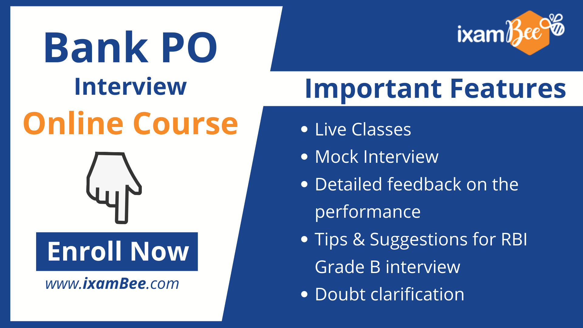 Bank PO Interview Course