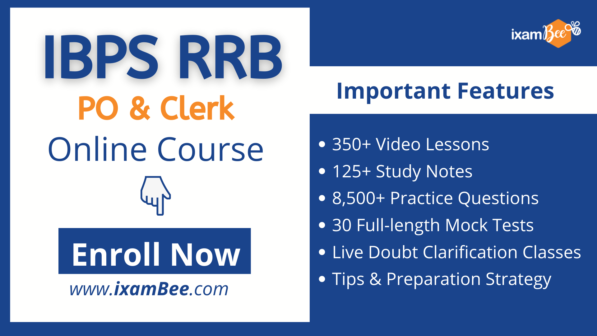 IBPS RRB PO and Clerk online course