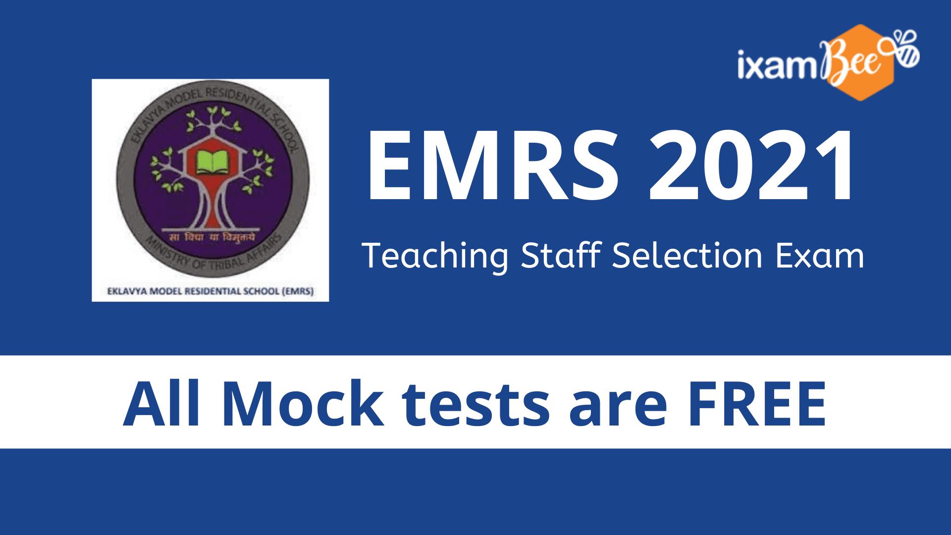 EMRS Free Mock Test