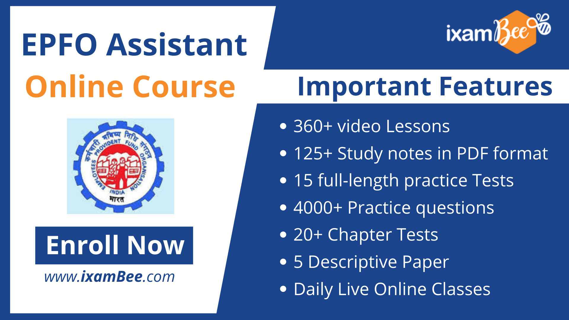 epfo assistant online course