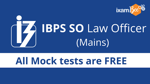 ibps SO LAW Officer mains Free Mock test