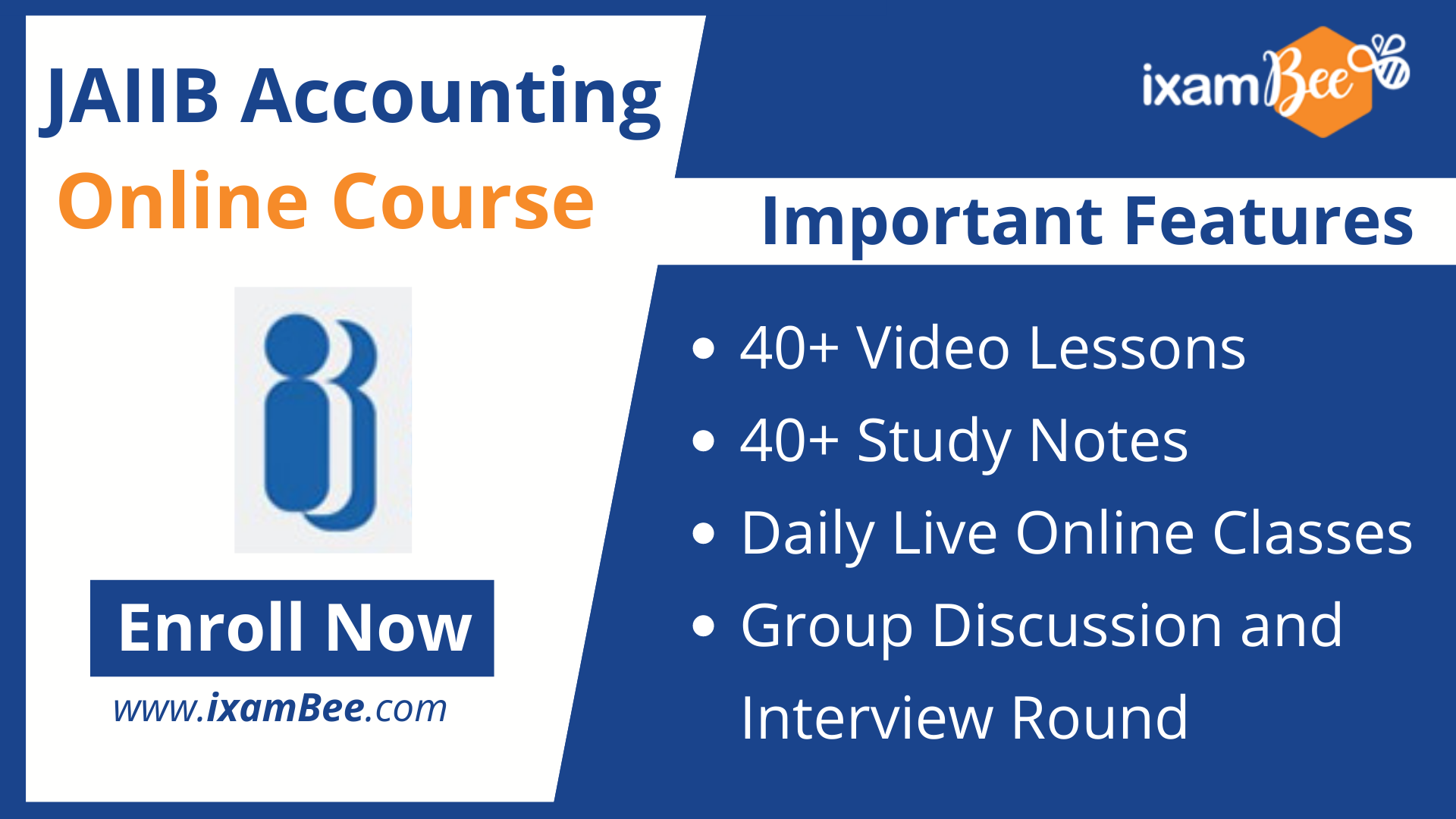 JAIIB Paper 2 (Accounting) online course