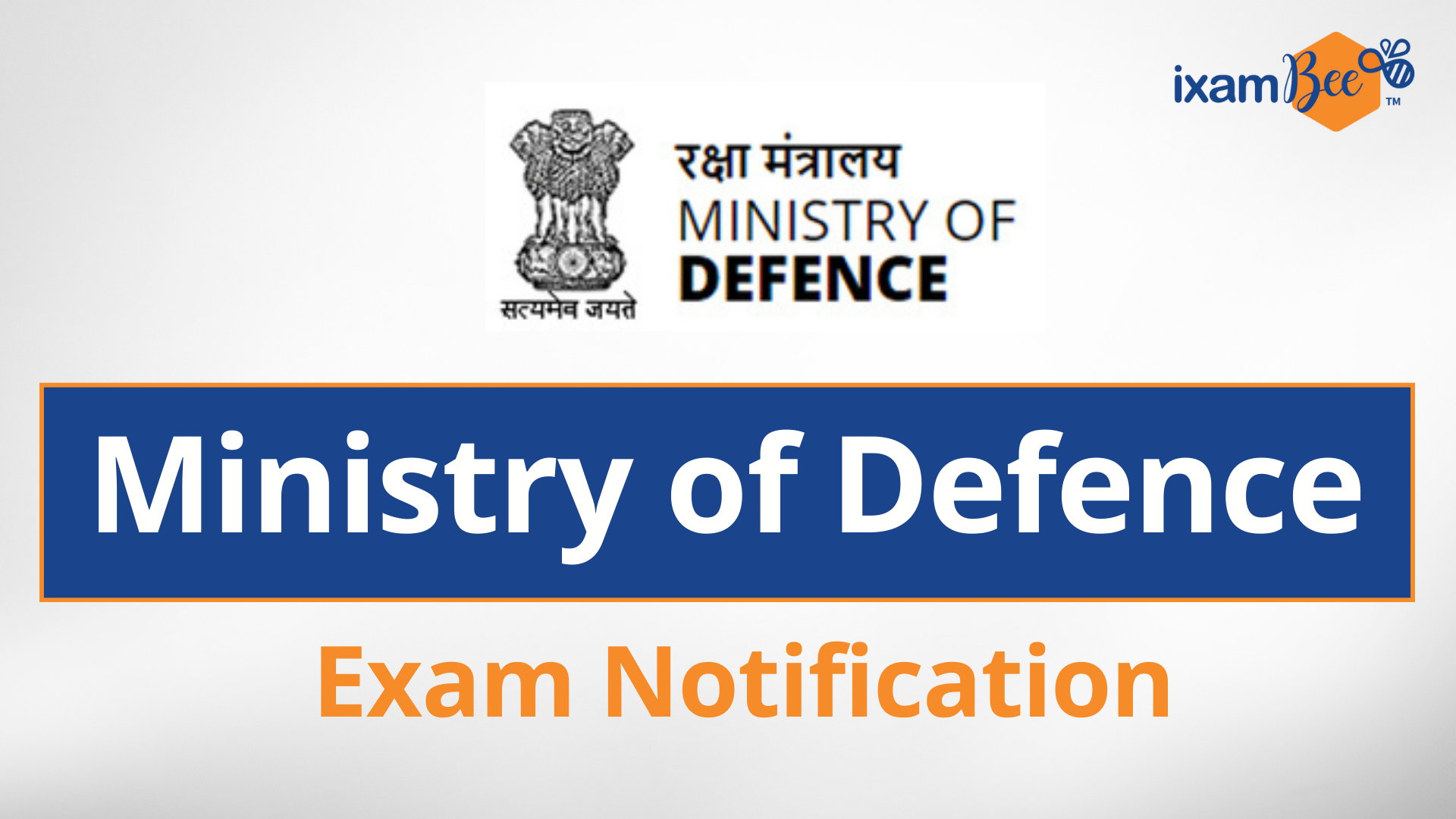 Ministry of Defence Exam Syllabus 2021