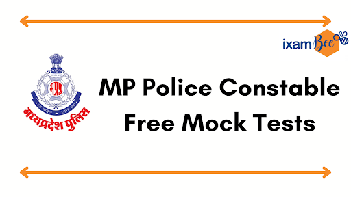 MP Police Constable Free Mock Test