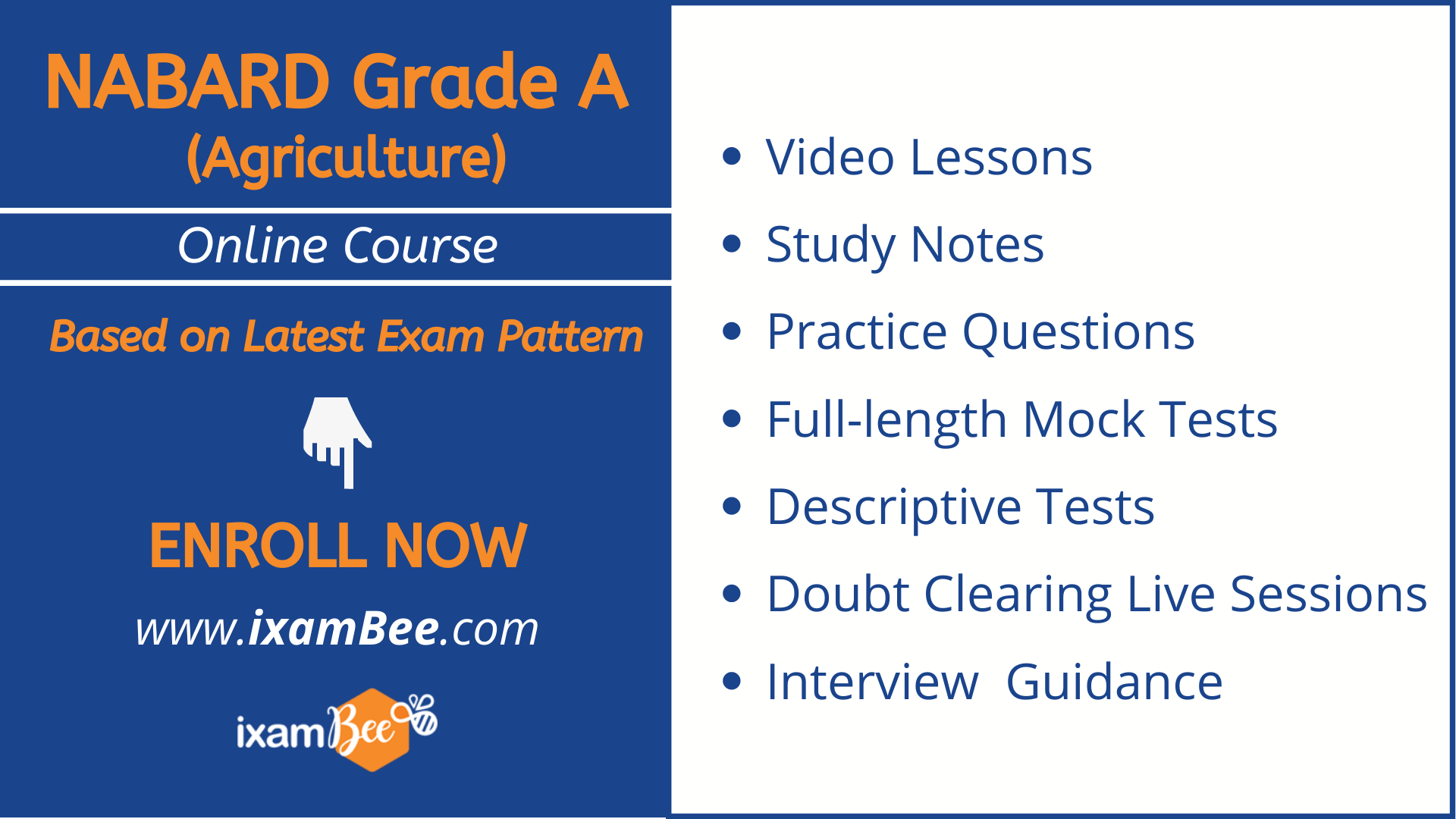NABARD Grade A Agriculture Online Course