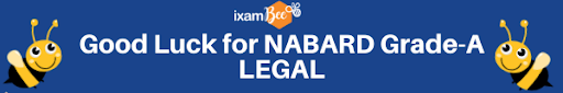NABARD Grade A Legal exam page