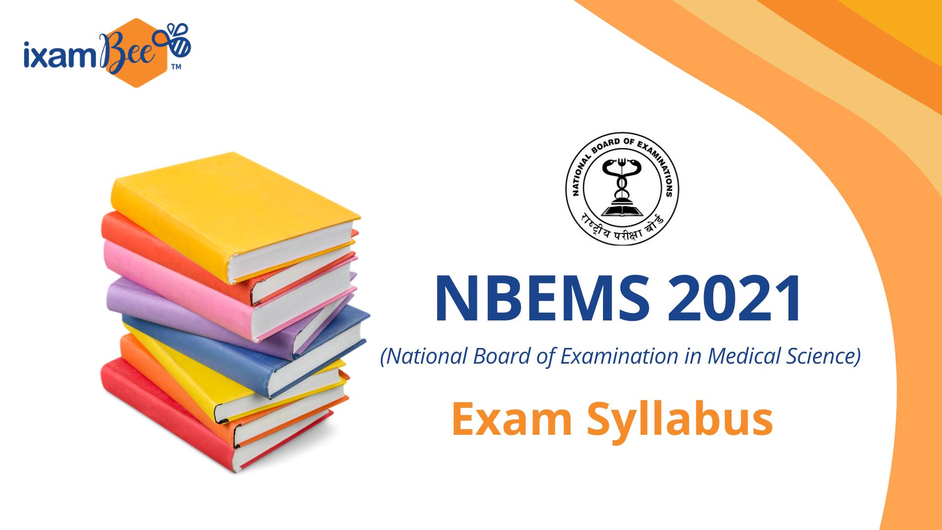 NBEMS Exam Syllabus