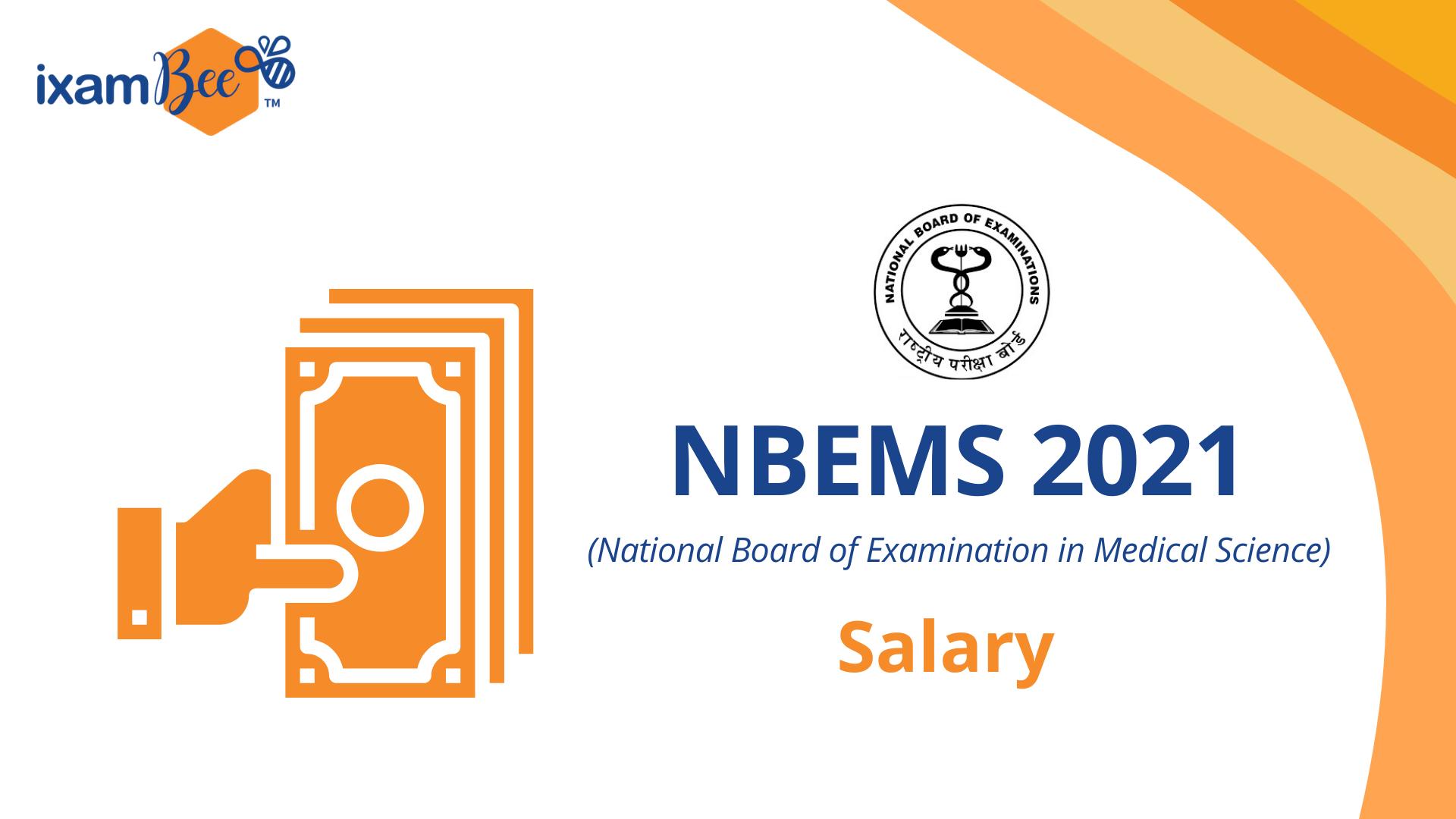 NBEMS Salary