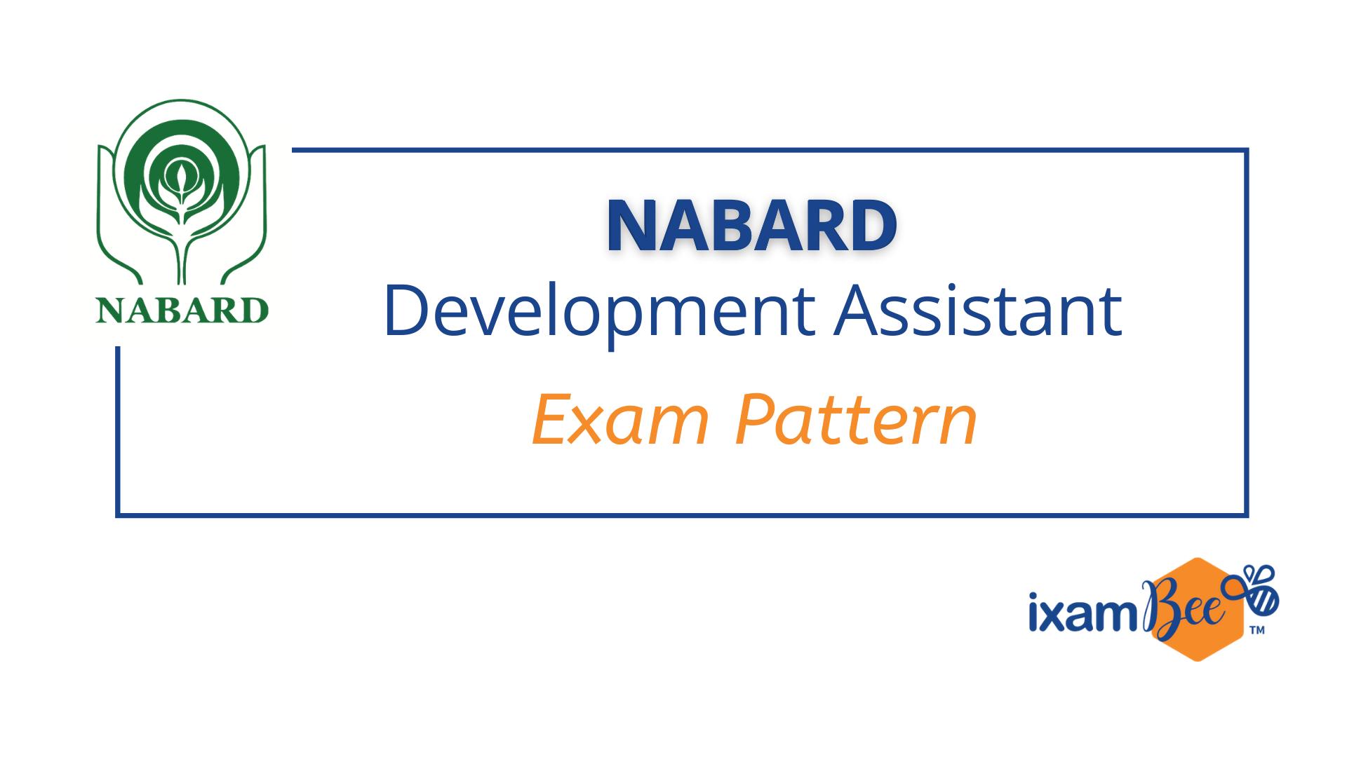 NABARD Development Assistant Exam Pattern