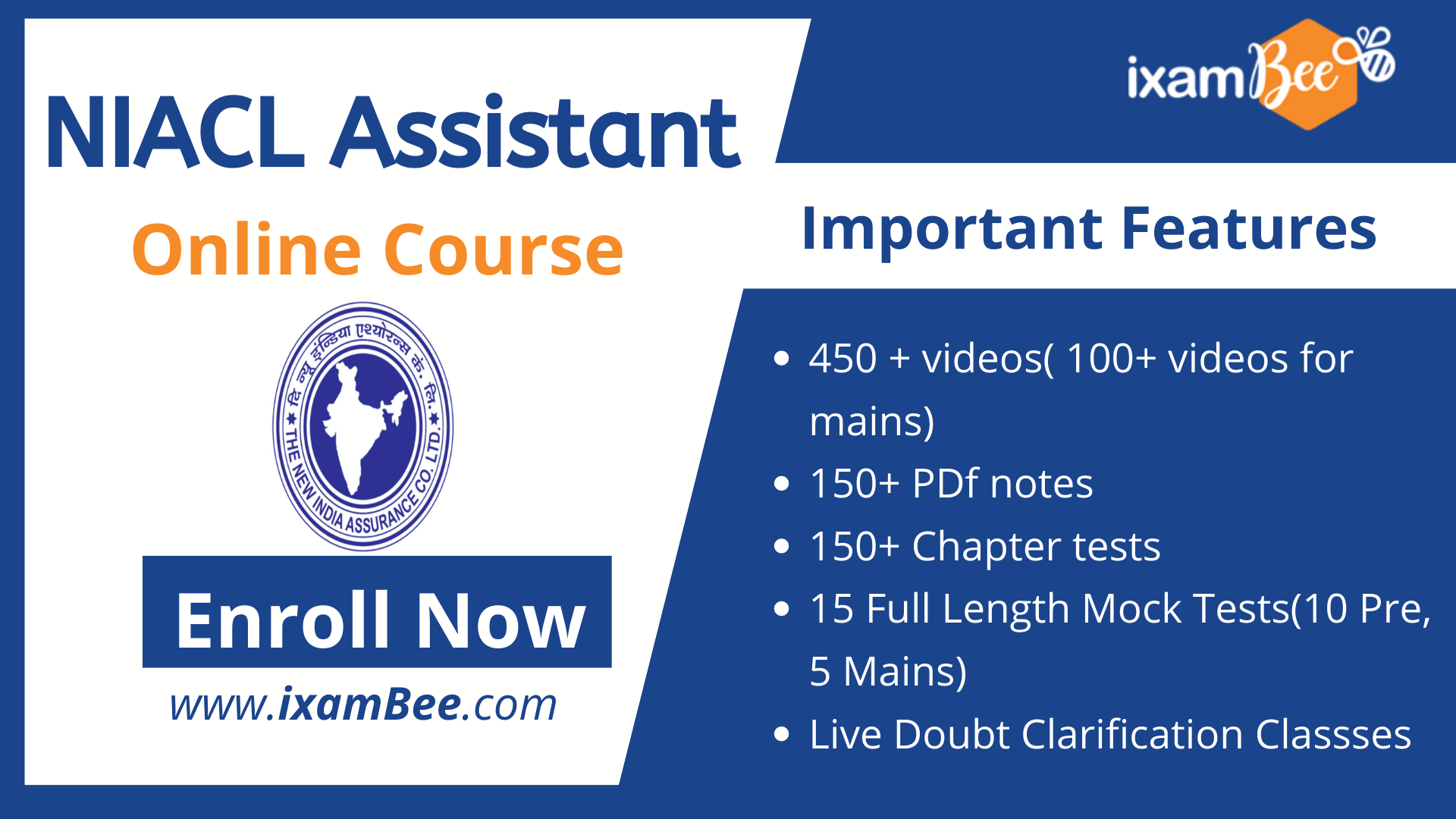 NIACL Assistant online course