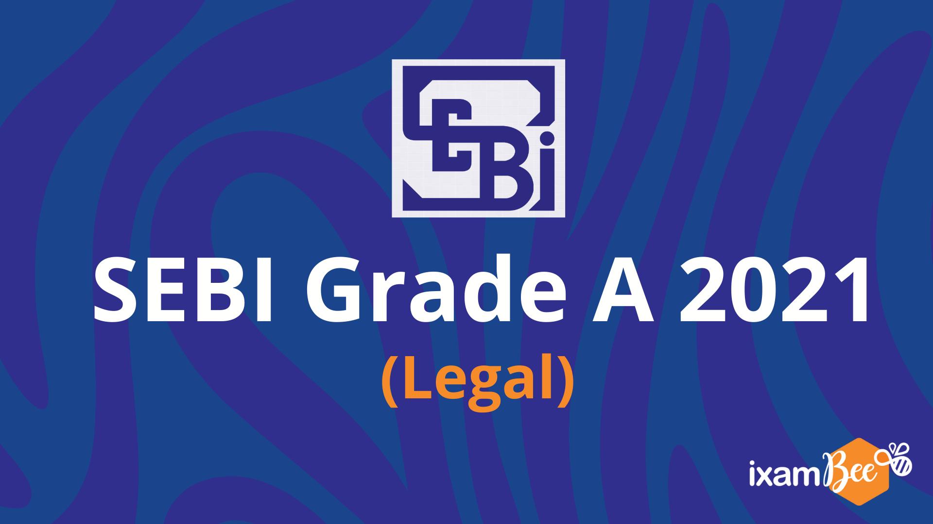 SEBI Grade A Exam Notification