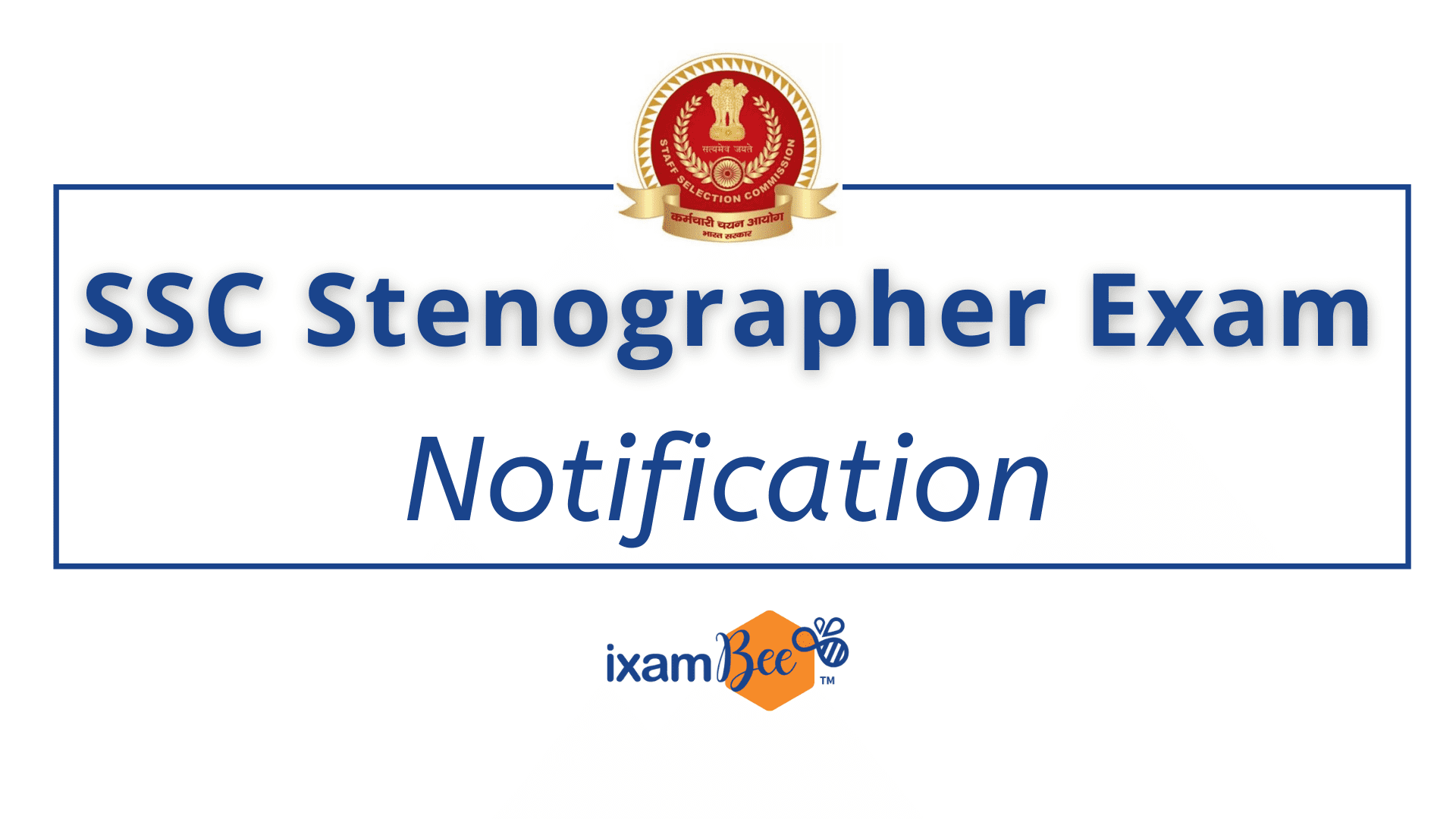 SSC-Stenographer-Notification