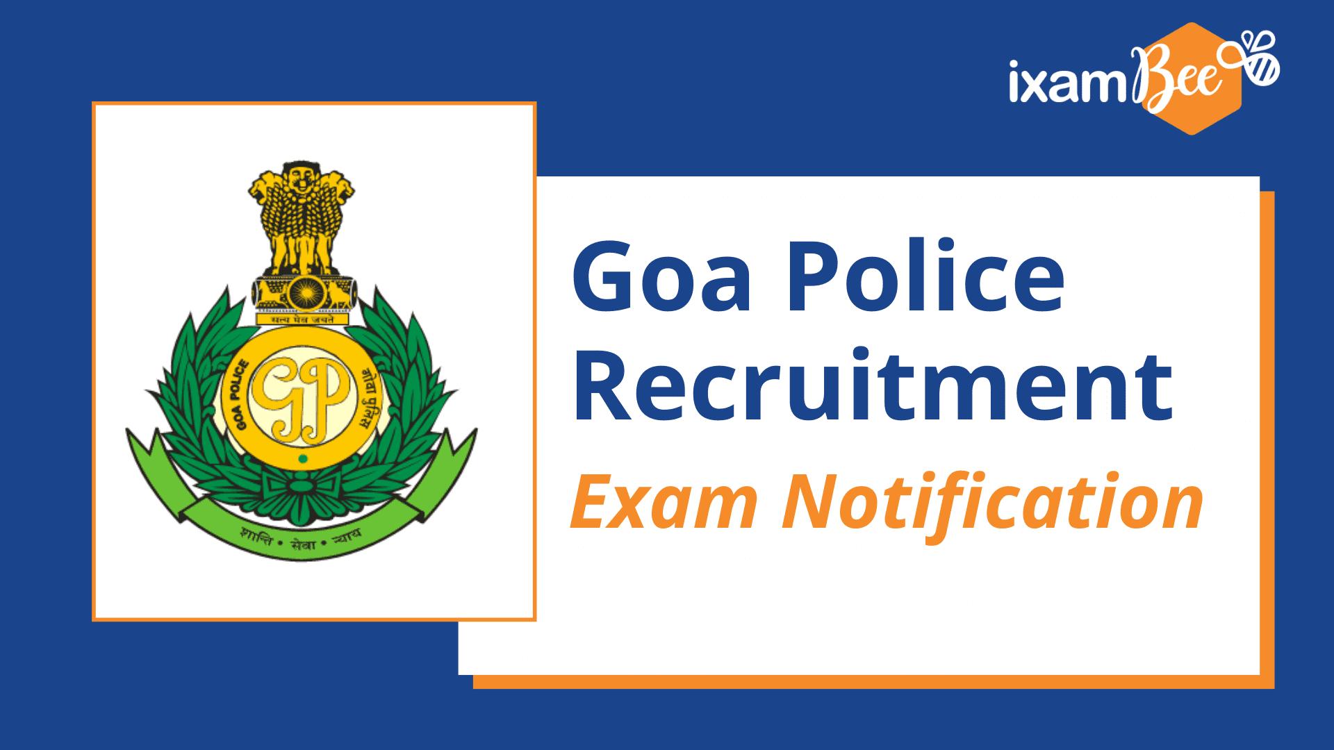 Goa Police Recruitment Notification