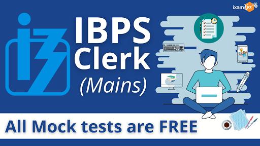 IBPS Clerk Mains Free Mock Test