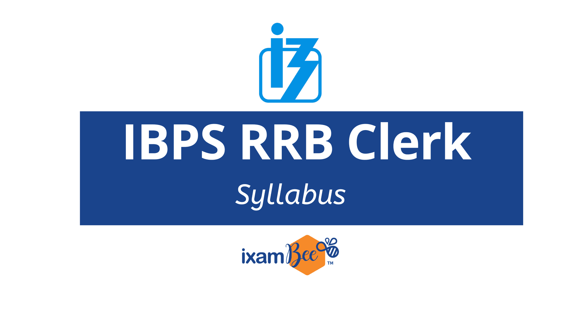 IBPS RRB Group 'B' Office Assistant Syllabus