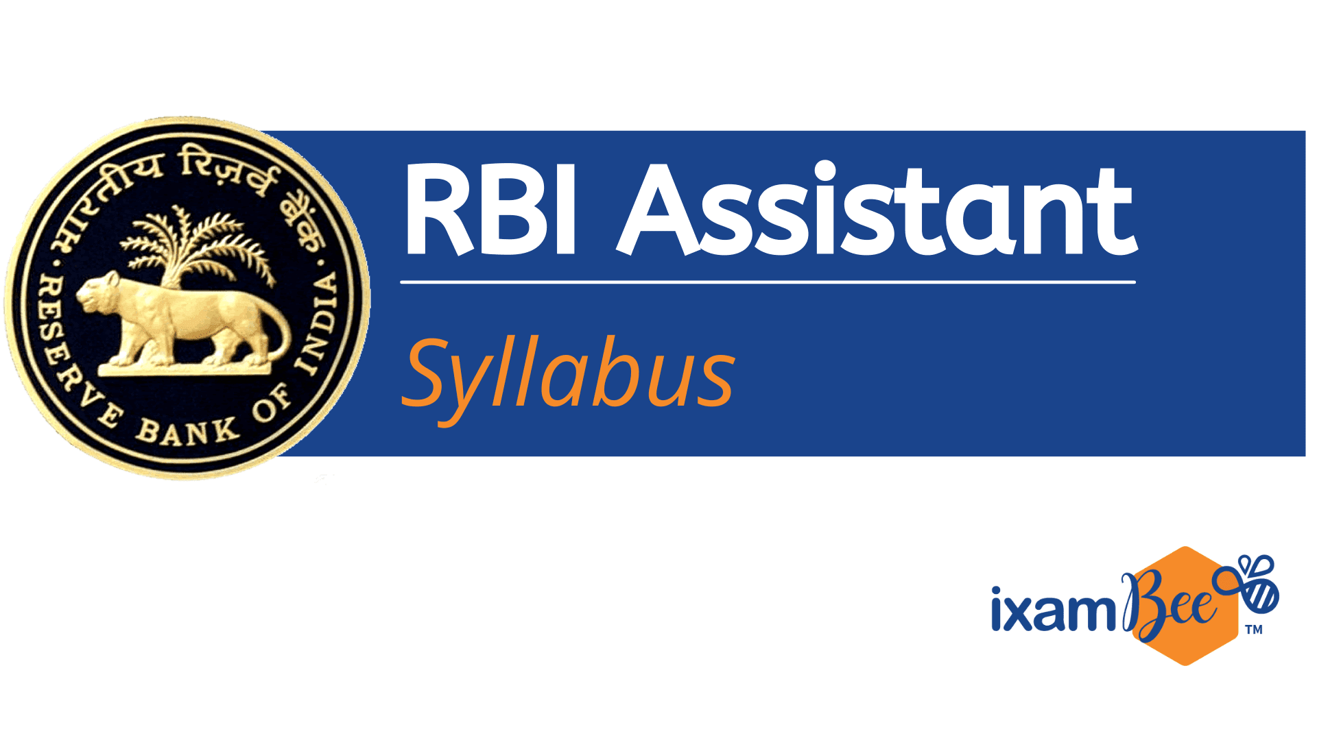 RBI Assistant Syllabus