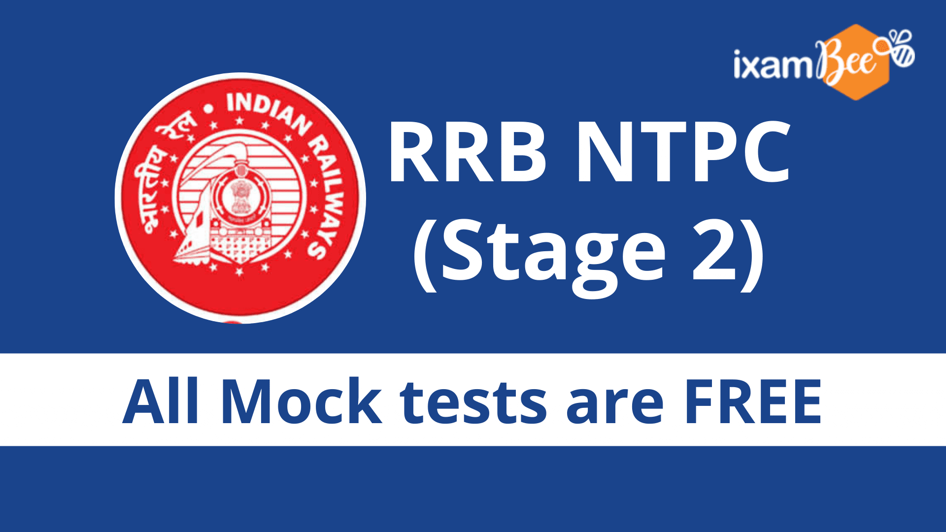 RRB NTPC Stage 2 Free Mock Test