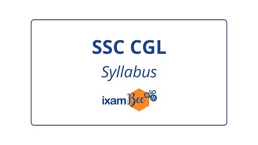 SSC CGL exam Syllabus